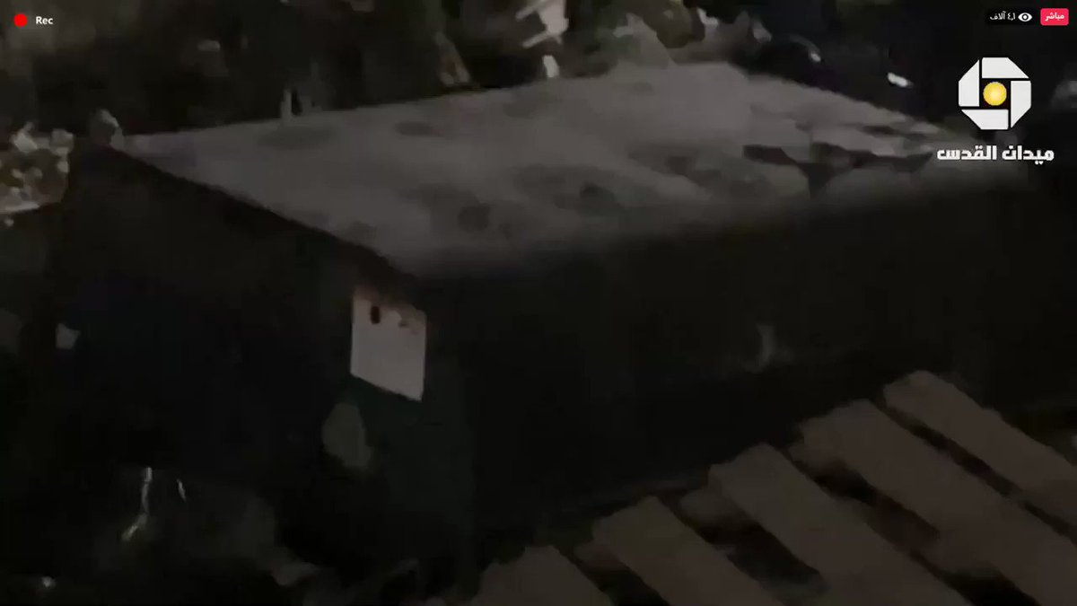Israeli Occupation Forces showered Palestinian worshippers with tear gas, stun grenades and pellet guns while they prayed at al Aqsa mosque tonight. https://t.co/sH2NvEgxgE