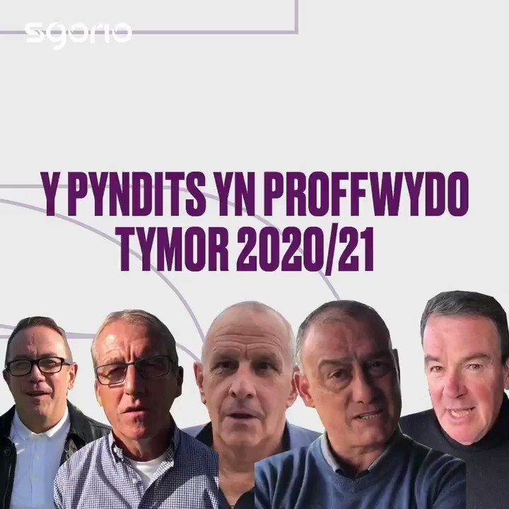 Image for the Tweet beginning: Y pyndits yn proffwydo: tymor