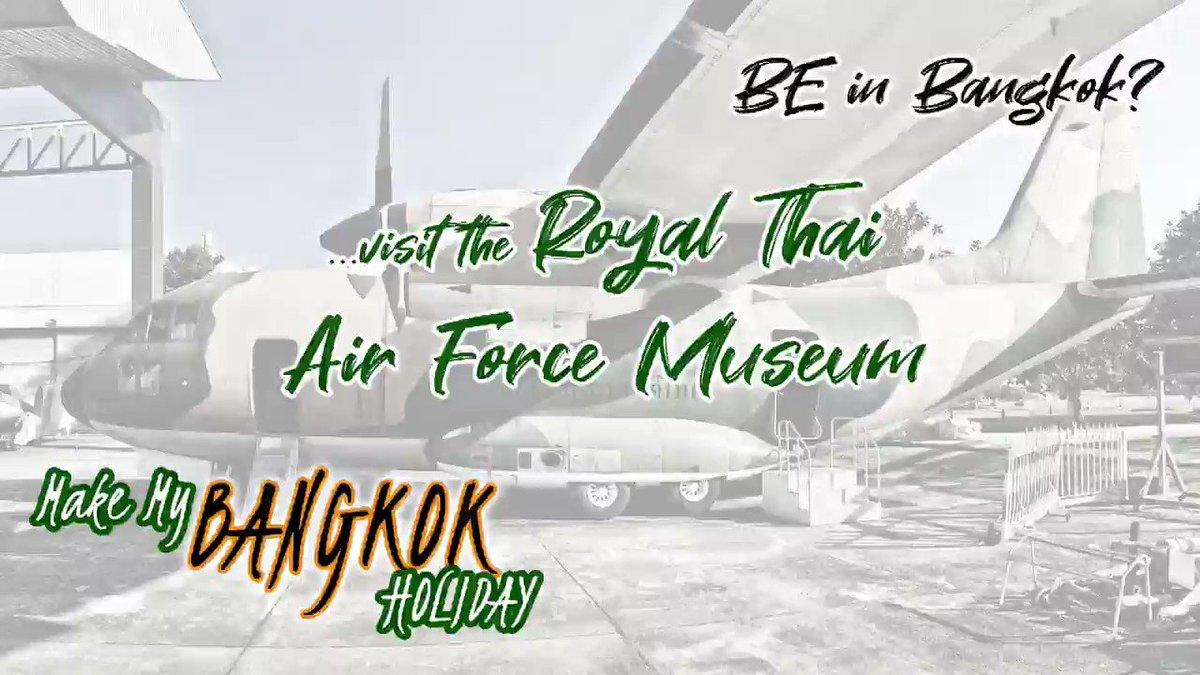 Bangkok, City of Angels, Video Impressions - Royal Thai Air Force Museum (Aviation). #Thailand #Bangkok #Metropolis #Travel #Tourism #Holiday #Impressions #Museum #Air #Force #Aviation https://t.co/2ZTBTDy50l