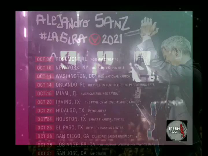 El tren de los momentos ya esta cerca @AlejandroSanz 🎩 #LaGiraUsa 🎉 #FelizSabadoATodos