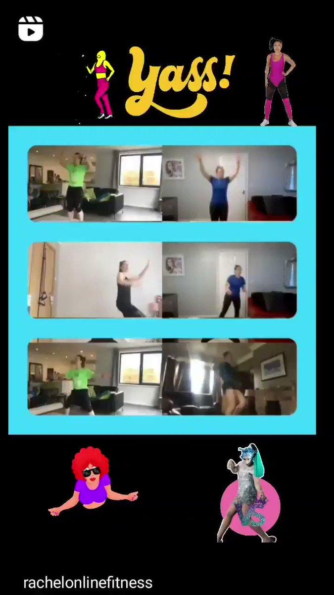 Some fabulous dance moves this morning! 🕺🏼💃🤩🤣 Thanks @rachelonlinefit @ShaunT #cardio #letsgetup #dance #workout #fun @Beachbody @teambeachbody #health #fitness #fitbit #instafit @EleanorDurdy94 https://t.co/U9pt7BfTTx