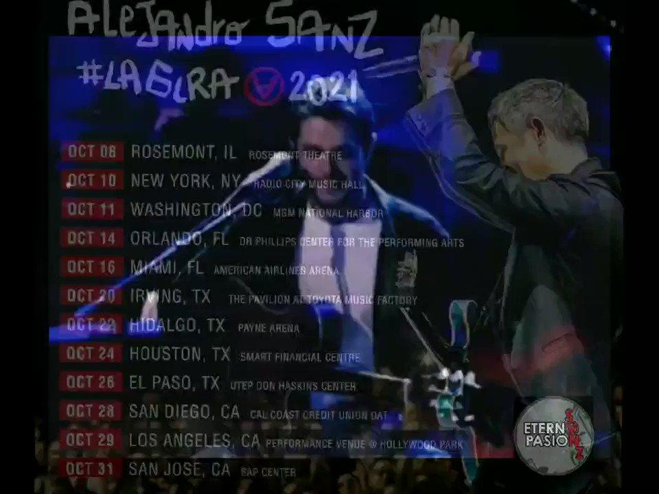 @AlejandroSanz te echa de menos ❤️❤️ y nosotr@s también. Compra tus #tickets #LaGiraUsa