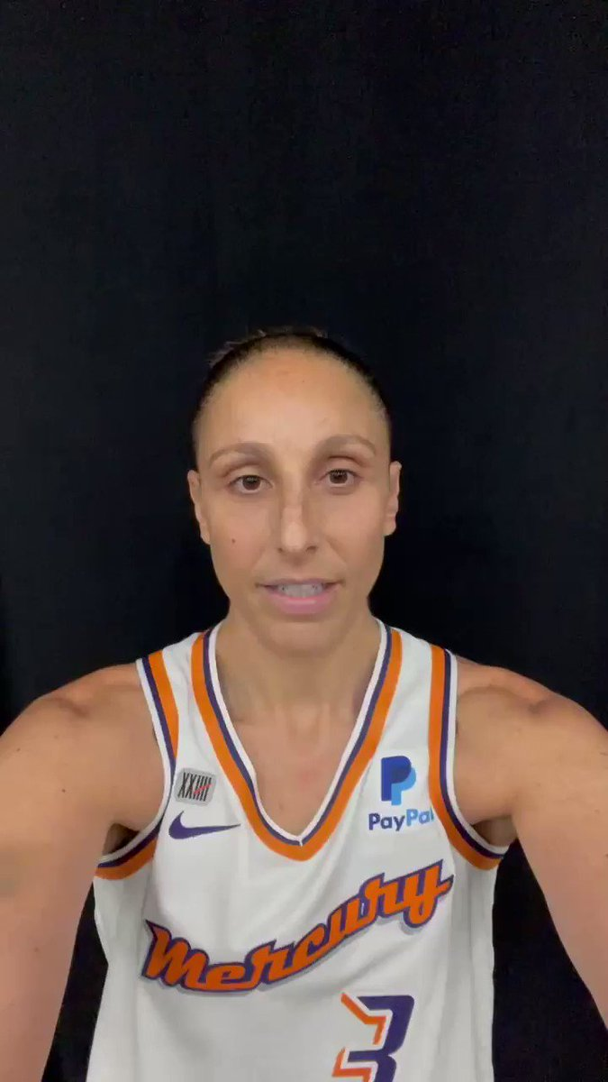 The 🐐, @DianaTaurasi, will be joining the pregame show on SunsLive! presented by @efirstbank.  Tune in at 6:30PM on @BallySportSAZ! https://t.co/oJiKZvbkoX