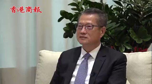 【專訪 | 財政司司長陳茂波:香港全年GDP料升5.5%】財政司司長陳茂波日前接受香港商報專訪時直言,本港首季GDP表現理想,全年經濟增長有望達到預估的5.5%高位,希望明年可以超越2019年時(即疫情暴發前)的水平。惟他強調,香港仍存在結構性財赤風險,暫時無意調整稅基,會先做研究並於合適時機再推出。 https://t.co/AmIEiDtYjb
