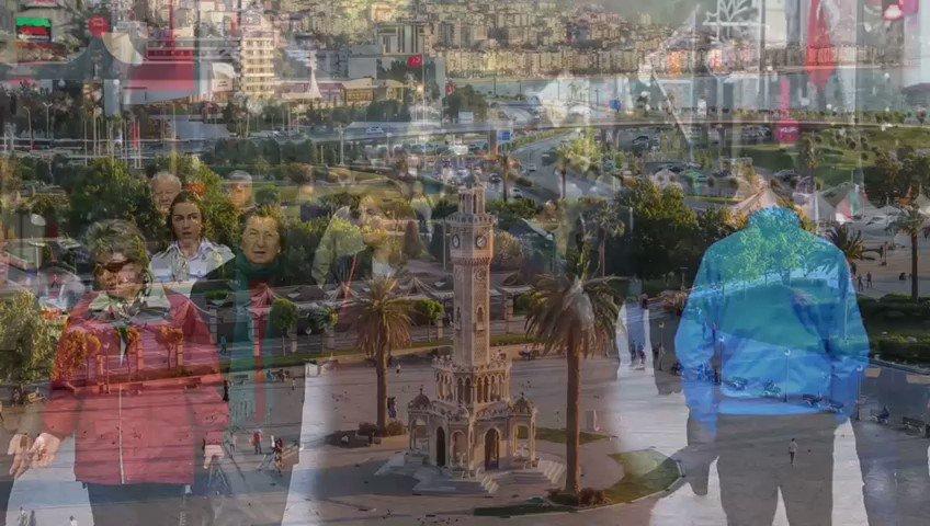 Image for the Tweet beginning: İzmir'de herkes engelsiz.  Engelsİzmir projemizde, Türkiye'de