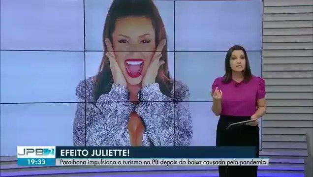 O fenômeno Juliette sendo o vetor da retomada do turismo na Paraíba após a pandemia é um pouco chocante pra mim, confesso https://t.co/a1YuiAa0MJ