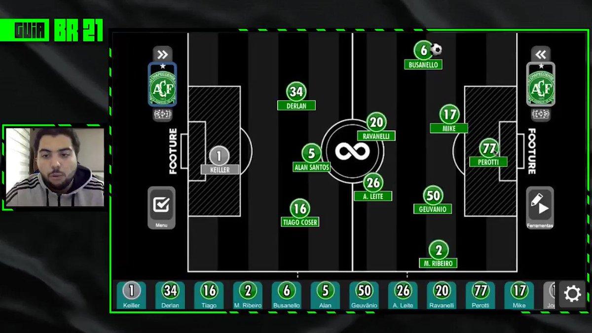 Chape, mais um time mais um dia de análise na collab @FootureFC + @Brasileirao https://t.co/Mero6dzgzu