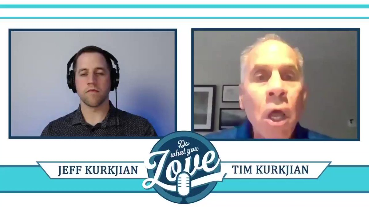 Just a clip of episode ONE of #DoWhatYouLove with none other than my dad, @Kurkjian_ESPN!   Full Interview: https://t.co/rDEknpQg56 https://t.co/C7L2D8pUE9