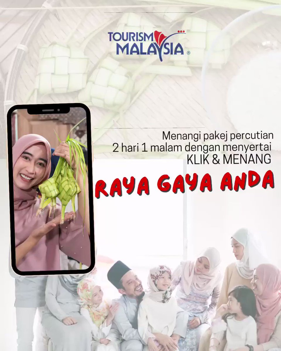 Image for the Tweet beginning: Raya Tetap Raya! #RayaGayaAnda and post
