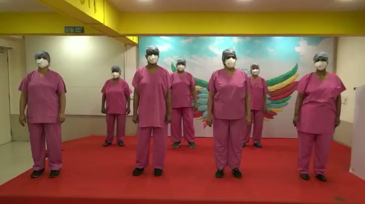 WATCH | Nurses of Mumbai's Jaslok Hospital perform on 'Hum Honge Kaamyaab' on #InternationalNursesDay