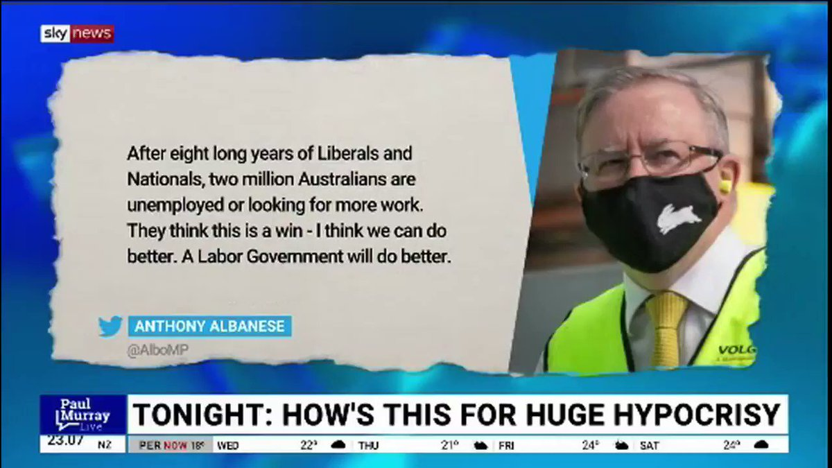 Each-way #Albo sells a dud #Budget2021 attack line which @PeterKhalilMP falls for hook line & sinker without doing the math and gets himself in a right mess.. Good old #Labor can't put a dent in this #LaborLiteBudget oops I mean #LaborLikeBudget 😉 #pmlive #auspol #ALP #Budget21