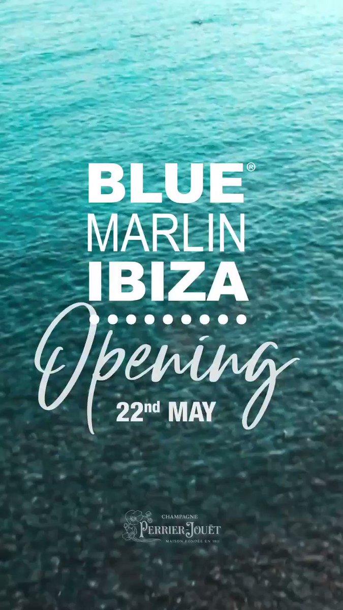 Image for the Tweet beginning: ✨BLUE MARLIN IBIZA OPENS SATURDAY