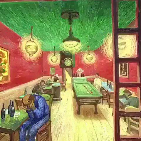 The world of Vincent van Gogh in virtual reality..  🎥 @VigilanteArtist https://t.co/kYFhBndf6J