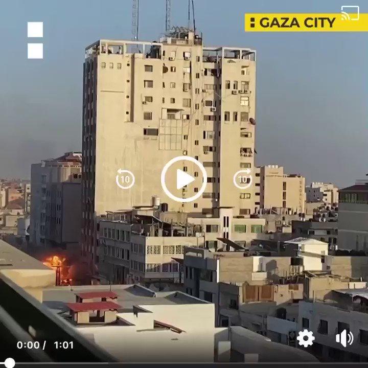 Israel Destroys Third Gaza Tower #StandwithPalestine #غزة_تحت_القصف_القدس_تنتفض #Gaza #Palestinian #إسرائيل #FreePalestine #IsraeliTerrorism #IsraelTerrorist { Credit Al Jazeera English } https://t.co/ZKXiw9iAoR