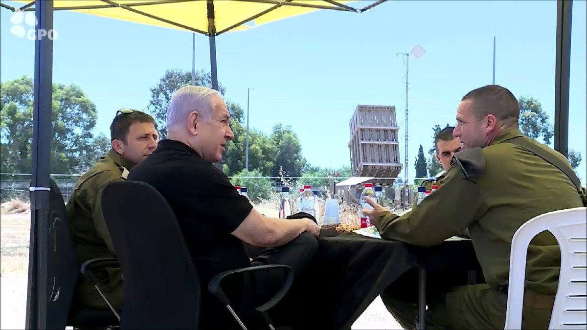 Image for the Tweet beginning: Prime Minister Benjamin Netanyahu visited