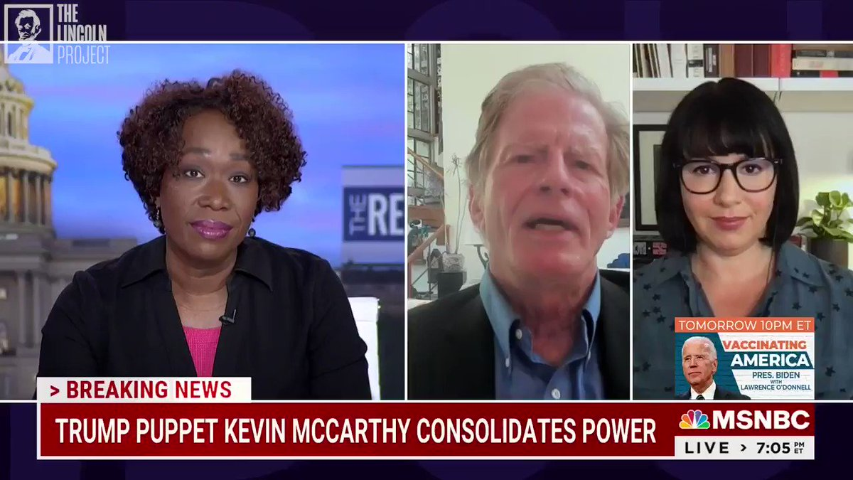 """""""There really is no coherent governing philosophy or moral purpose to the Republican Party.""""  Lincoln Project Sr. Advisor @StuartPStevens doesn't hold back when @JoyAnnReid asks about the state of the GOP."""