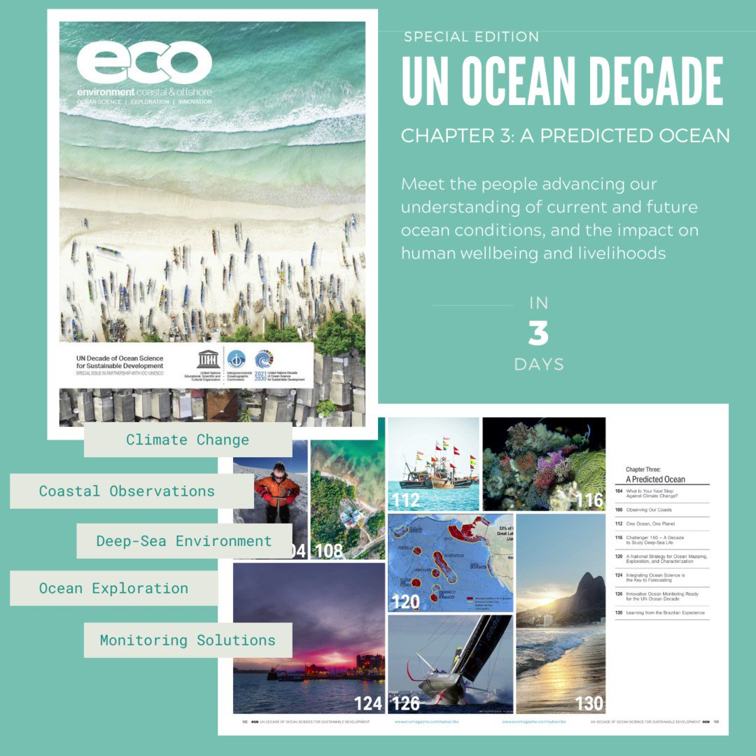 Image for the Tweet beginning: @ecoMagNews #OceanDecadeEdition countdown continues. 🐟  Just