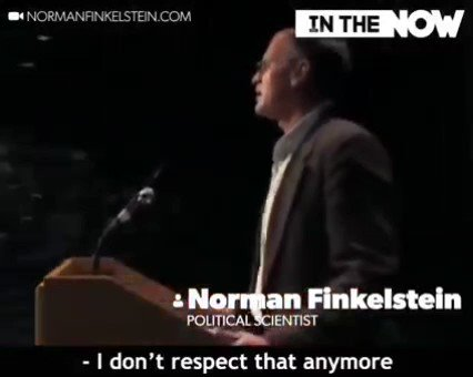 """It gives me a strange and immediate gratification every time I watch Mr. Finkelstein say, """"I really don't respect your crocodile tears"""" to the mewling face of this Zionist Maccabee. Truly one of the most satisfying videos on the internet.  #GazzaUnderAttack https://t.co/UcmwesVUbd"""