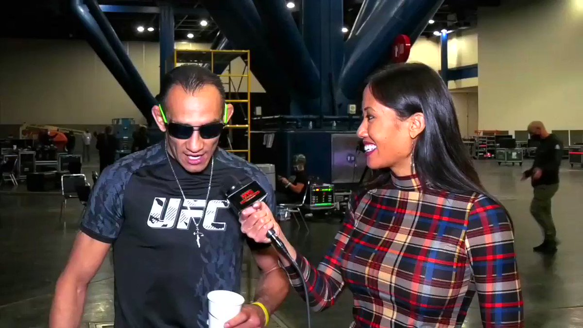 Concert + Monster Truck Rally = UFC event. Tony Ferguson's epic description on why you should tune in to #UFC262 Full interview here ——> https://t.co/LSLPGR8Fpo https://t.co/Yin3pXel7X