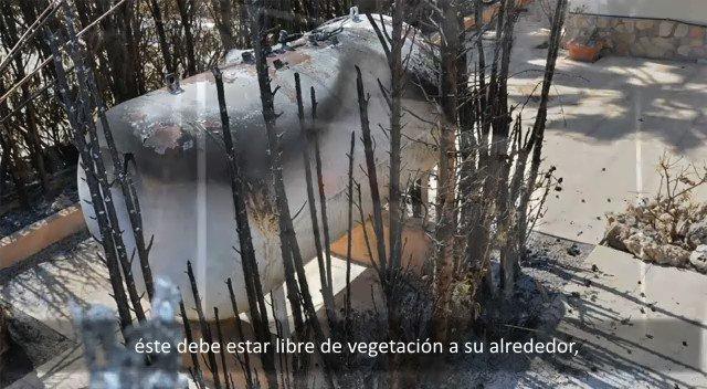 Image for the Tweet beginning: Buenas prácticas2 ante #IncendiosForestales #ColladoVillalba