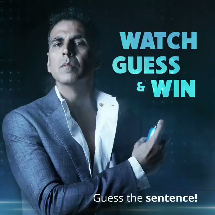 #ContestAlert!  We trust you know what Akshay's gonna say. Let us know and 3 lucky people will win some exciting Envy vouchers!  T&C here: https://t.co/AhDLHOPzbC  #EnvyFrench #TrustedFrenchFragrance  #Fragrances #deodorants  #AkshayKumar #Bollywood  #Giveaway #win #Contest https://t.co/fOYkhyK7Ix