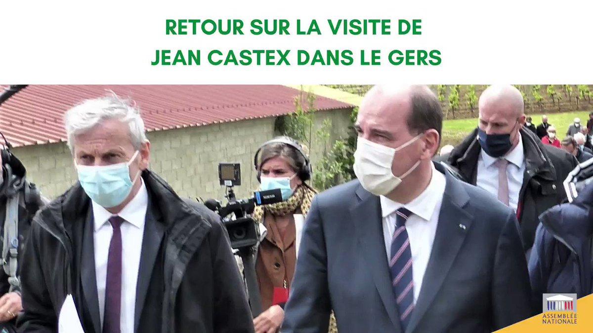 🎥 Retour sur la visite de @JeanCASTEX dans le Gers  🗓️ Chaque soir de la semaine, je reviendrai sur une des annonces du premier Ministre à l'occasion de son retour sur ses terres natales  🛣️ Premier épisode ce soir avec le financement de la fin des travaux de la RN 124 ! 👇