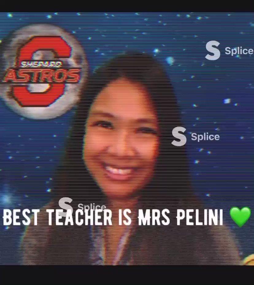 Appreciation Week for my teacher @tvteacherpelini The Best! https://t.co/dZmwNFVwlQ