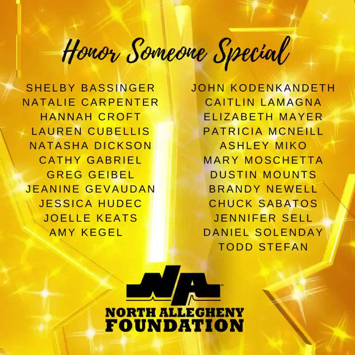 We're excited to add these 23 teachers to the Honor Someone Special wall at the NA Central Administration Office! Thank you to all of our families and alumni for celebrating Teacher Appreciation Week. https://t.co/KQ0YHonrqW