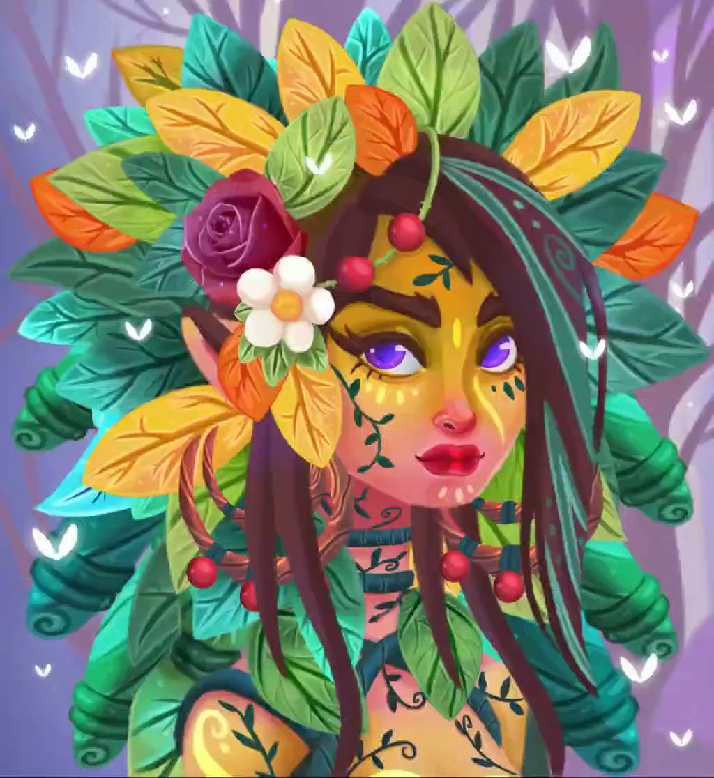 My Dryad is available in @withFND and waiting for the first bid :)  Reserve price: 0.35 ETH  https://t.co/sHBksydIVu  #NFTCommunity #nftcollectors #NFTartist #cryptoart #cryptoartist #Crypto #Ethereum https://t.co/lp9fzWTmyZ