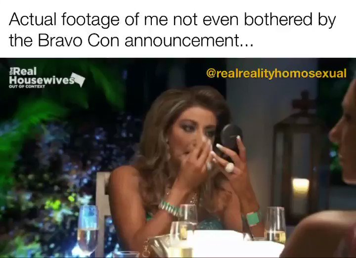 Happy for those that are super excited but Bravo doesn't pay my mortgage and #BearWeek in #PTown in July is more my speed anyway... . . . #RHOC #RHOP #RHOSLC #RHOBH #RHOD #RHOA #RHONJ #RHODC #RHOM #RHONY #BravoTV #Bravo #RealityTV #HousewiveMemes #BravoCon2021