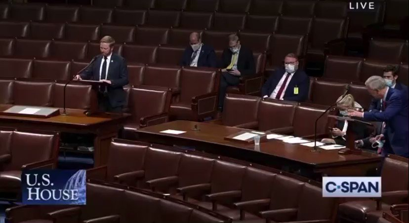 I just spoke on the House floor in strong support of H.R. 3233, a bill to establish a bipartisan commission to investigate the disgraceful Jan. 6 attack on our Capitol. I proudly supported this effort back in January, and I will vote in favor of it tonight. (1/2) https://t.co/67AL3WBeyN