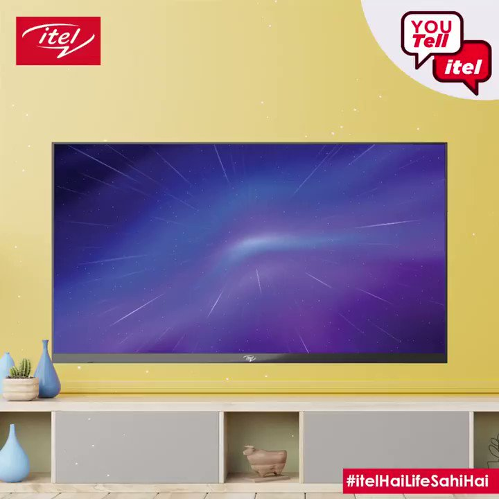 #ContestAlert it's time for the #YouTellitel Contest: The itel G-Series Android TV offers a lot of exciting features at the totally SAHI price. Look at these questions about the itel G-Series TV - tell us the SAHI features and win neat prizes! #itelHaiLifeSahiHai https://t.co/NvARZ4uxaG