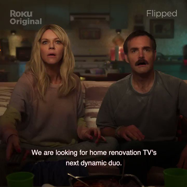 Don't miss 'Flipped,' starring @KaitlinOlson @OrvilleIV and @arturocastro85. Streaming on @TheRokuChannel https://t.co/kJ4m6Kg3jS