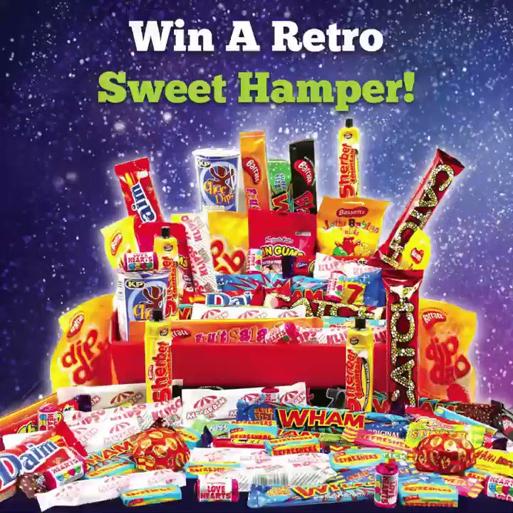 🍬 Win a Retro Sweet Hamper! 🍬 Simply: ❤️ Like 🔁 Retweet 💬 Tag a Friend Winner will be selected on Monday!  #WinWithChill #SweetTreats #SweetCompetition #Sweets #Win #CompetitionTime #Giveaway #Contest #ContestAlert #GoodLuck #Winning https://t.co/oh5FF12dRm