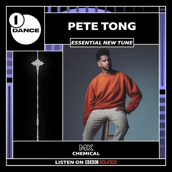 Thank you @petetong for selecting CHEMICAL as tonight's #EssentialNewTune! 🙏🏽 ⚠️ bbc.co.uk/sounds/play/li…