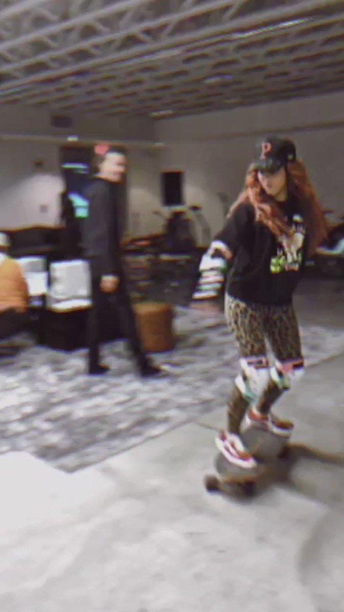 Turning Sony's Studios into a skate park! Ha 🤘🏼 https://t.co/zKXC6uB63K