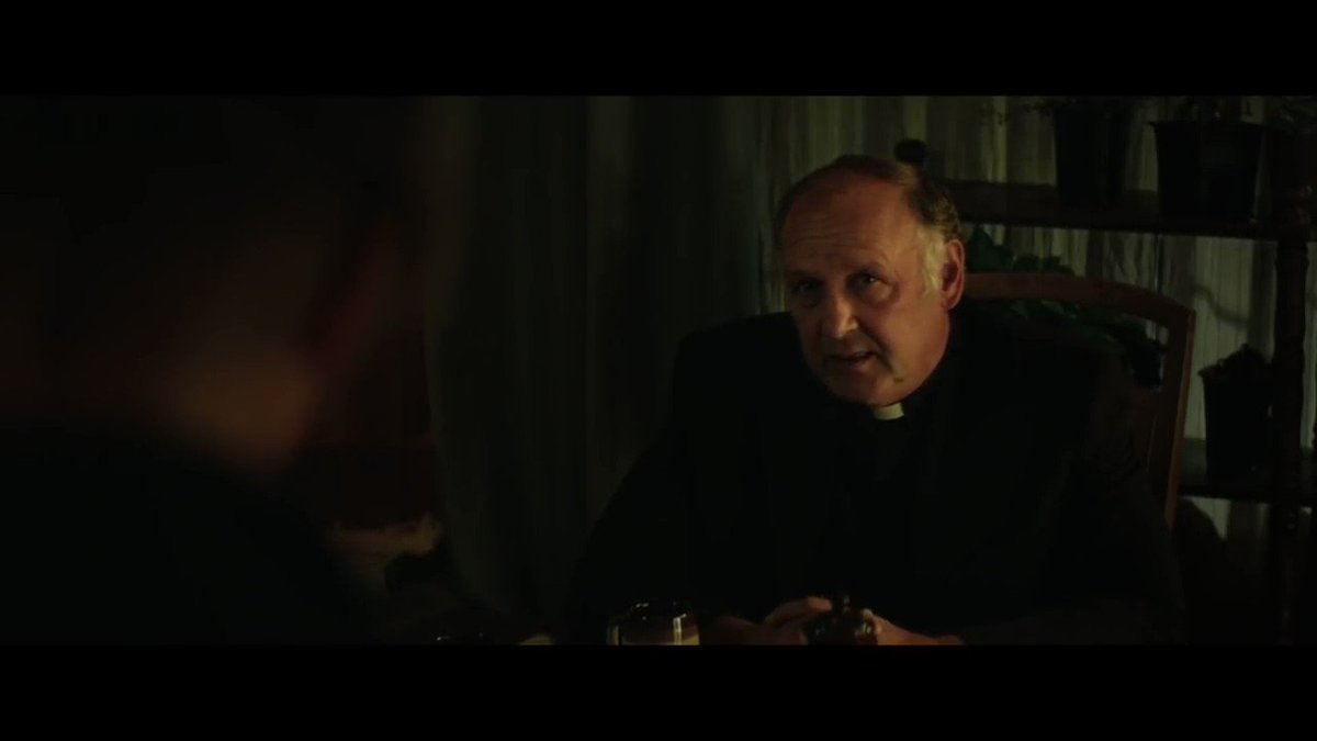 """""""So why don't you just finish up your tea there Father and get the fuck out of my kitchen.""""  THREE BILLBOARDS OUTSIDE EBBING, MISSOURI (2017)   #FrancesMcDormand #MartinMcDonagh"""