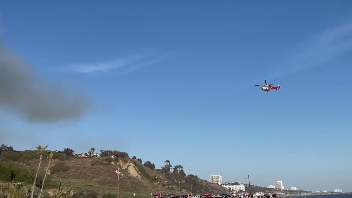 RT @typesfast: Watching fire fighters do heroic work in Pacific Palisades rn https://t.co/94sObwe1e7