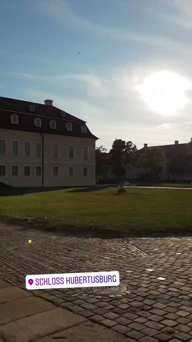 Image for the Tweet beginning: Schloss Hubertusburg, Saxony, Germany . #schloss #castle