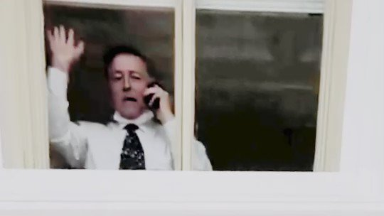 Texas Republican Rep Randy Weber waving through window at Capitol to the seditionists on Jan 6th  cc @BidenSquadron   #DemVoice1   #FreshVoicesRise  #ONEV1    https://t.co/BmS841A5Tt