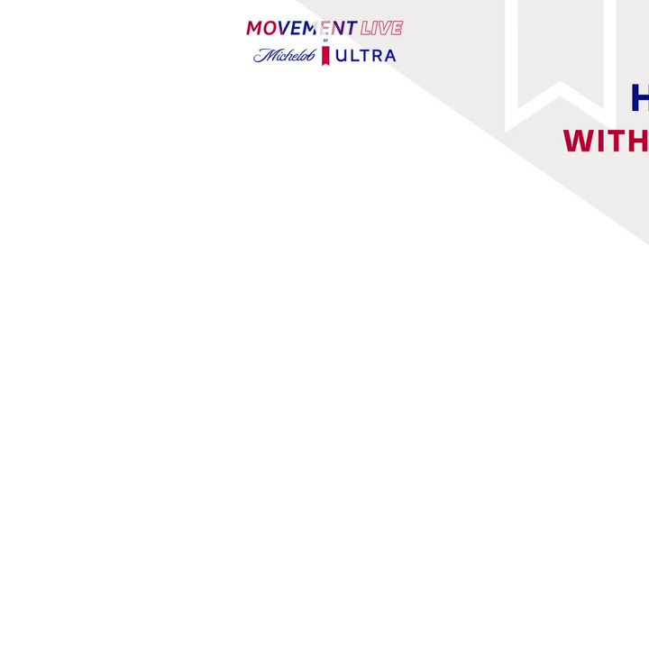 Join me and Chip for Happy Hour on June 10th at 7PM ET with @MichelobULTRA. We'll be hanging out with @calik9 @magnuslygdback, @followthelita during Movement LIVE by Michelob ULTRA. RSVP for a chance to win a dream home gym! https://t.co/JA2f4s8wYc https://t.co/6s5wlWoSbm