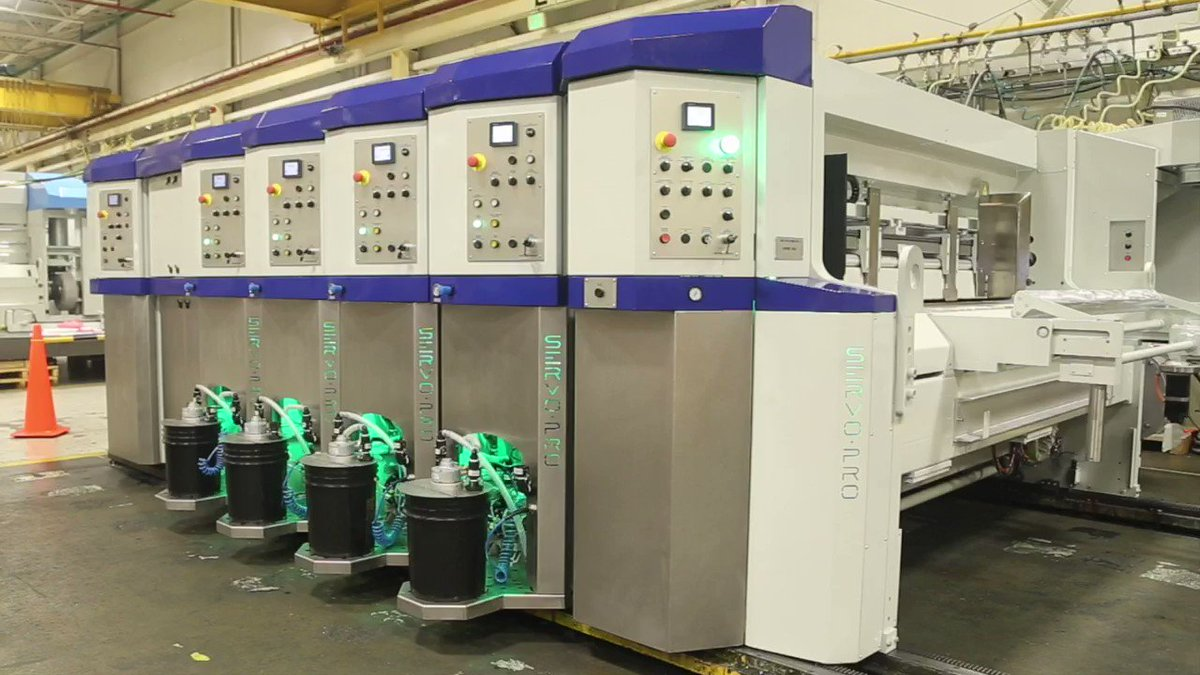 Image for the Tweet beginning: The newest BW Papersystems rotary