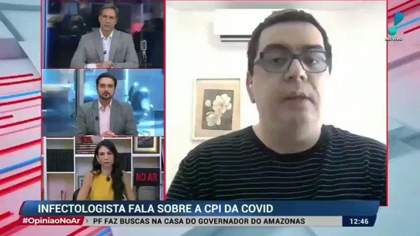 Dr Francisco Cardoso infectologista, comentando sobre as falas da Dra Luana na CPI ontem: Vejam 👇 https://t.co/JeaSEIHrqZ