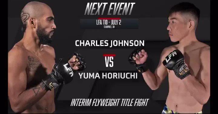 July 2 im get @lfafighting title🔥 7月2日に @lfafighting 世界タイトルマッチが決まりました!!😆🔥 必ず勝ちますそしてベルトを必ず巻いてその先のUFCに行きます!! 皆さん応援よろしくお願い致します🔥🔥🔥 #LFA #UFC #ichiban https://t.co/G1ImBvTGN9