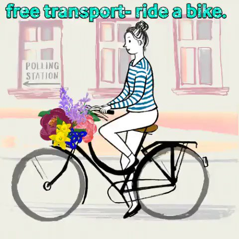 #ActiveTravel doesn't need to be competitive. You can bike to the shops or work as part of everyday transport. Free, healthy & fun. #Powertothepedal  #NO2Idling