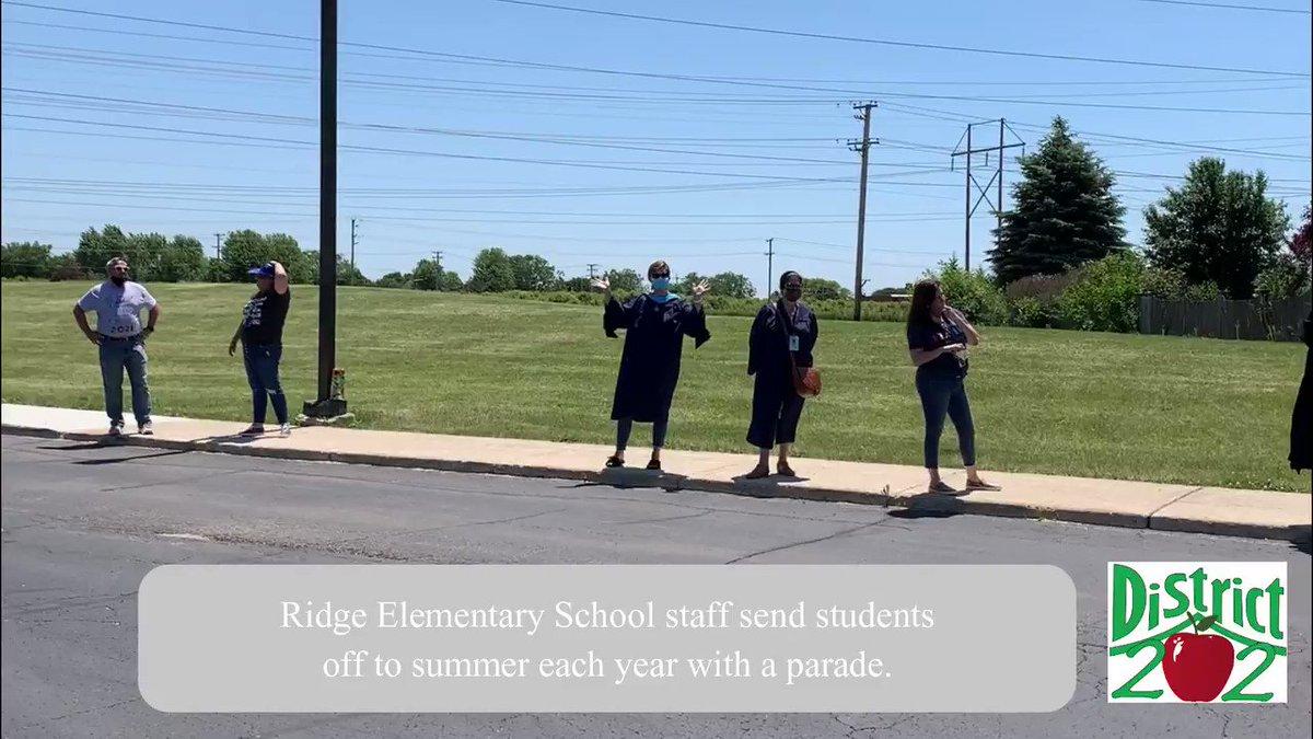 Image for the Tweet beginning: Saying goodbye to @PrideRidge students