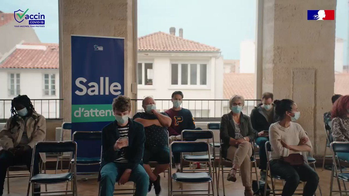 💉 vaccinée ! #tousvaccinestousproteges