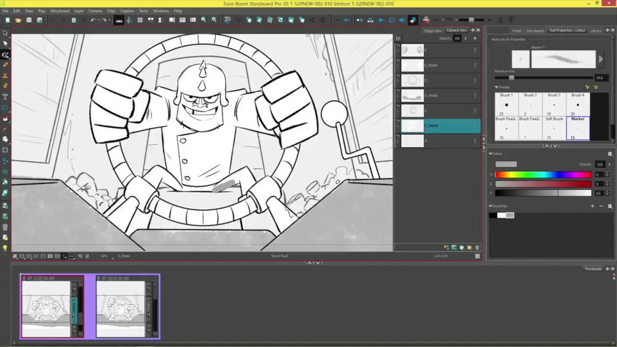 Image for the Tweet beginning: Is your storyboard panel in