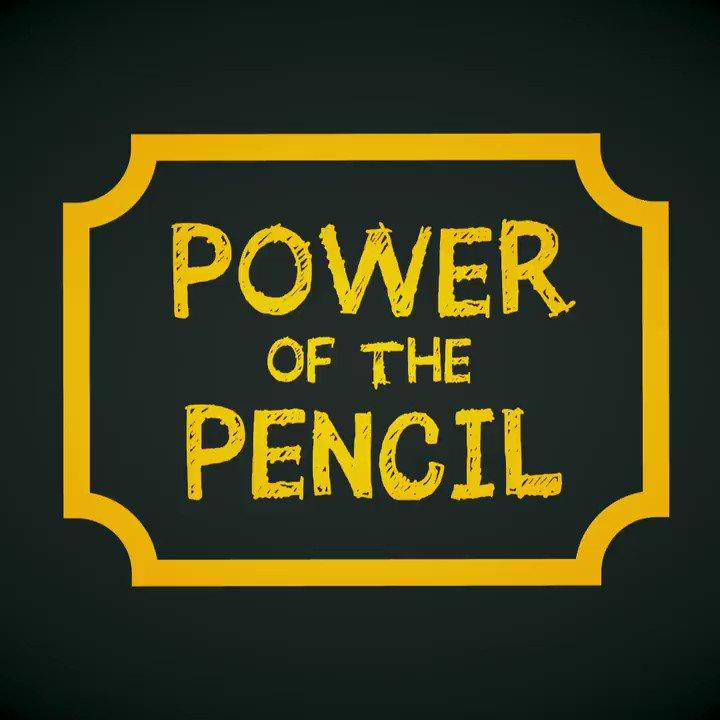 It starts with a pencil! #PostForPencils @KidsInNeed @WeRTiconderoga