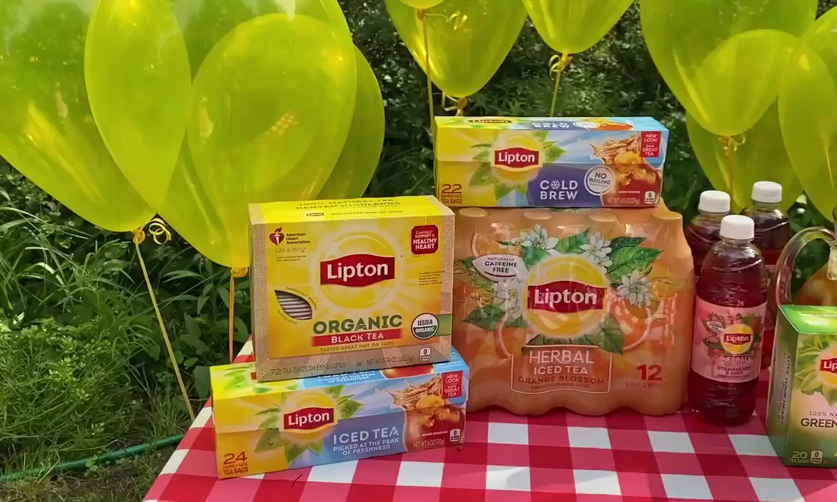 @Lipton's photo on #LiptonIcedTeaDay